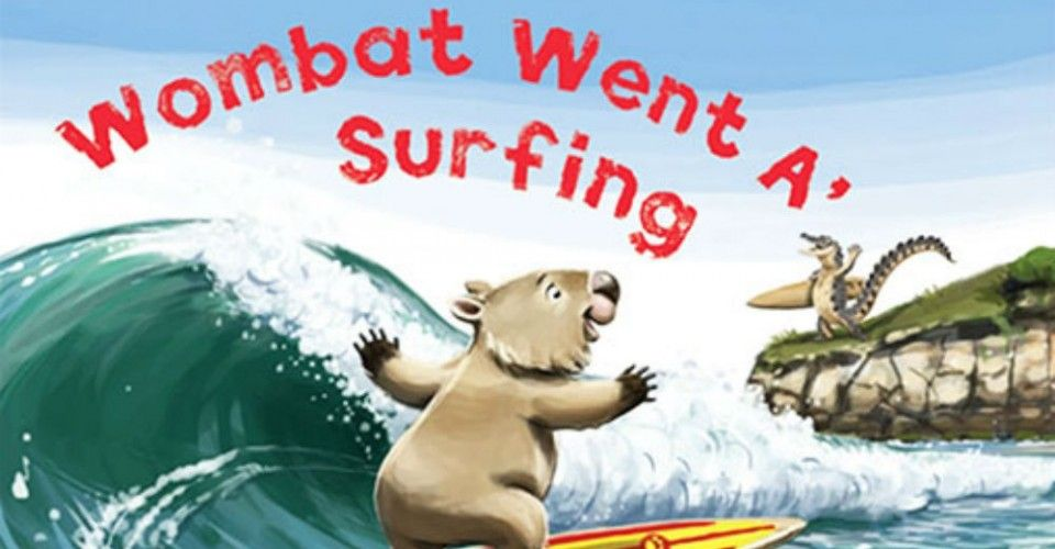 WOMBAT WENT A' SURFING ...With A Little Help From His Friends - Children's Book Review - The ClotheslineThe Clothesline