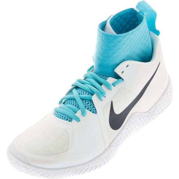Nike Women S Flare Tennis Shoes White And Gamma Blue Tennis Shoes Womens Tennis Shoes Nike Women