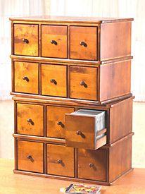 Six-Drawer CD Cabinet & Six-Drawer CD Cabinet | Getting Organized | Pinterest | Drawers ...