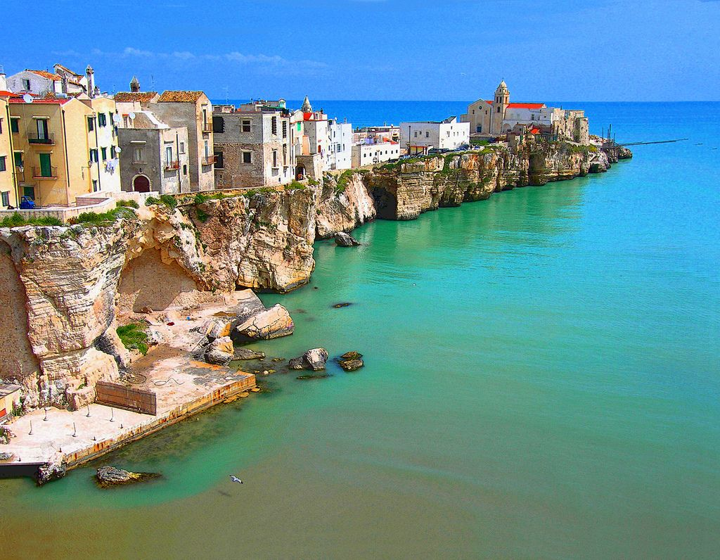 Vieste (Puglia) Viaggiare in italia, Italia e Viaggi
