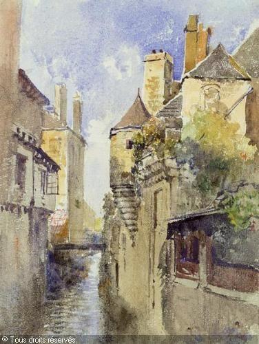 Marie Egner 1850 1940 Altstadt In Quimper Quimper Bretagne