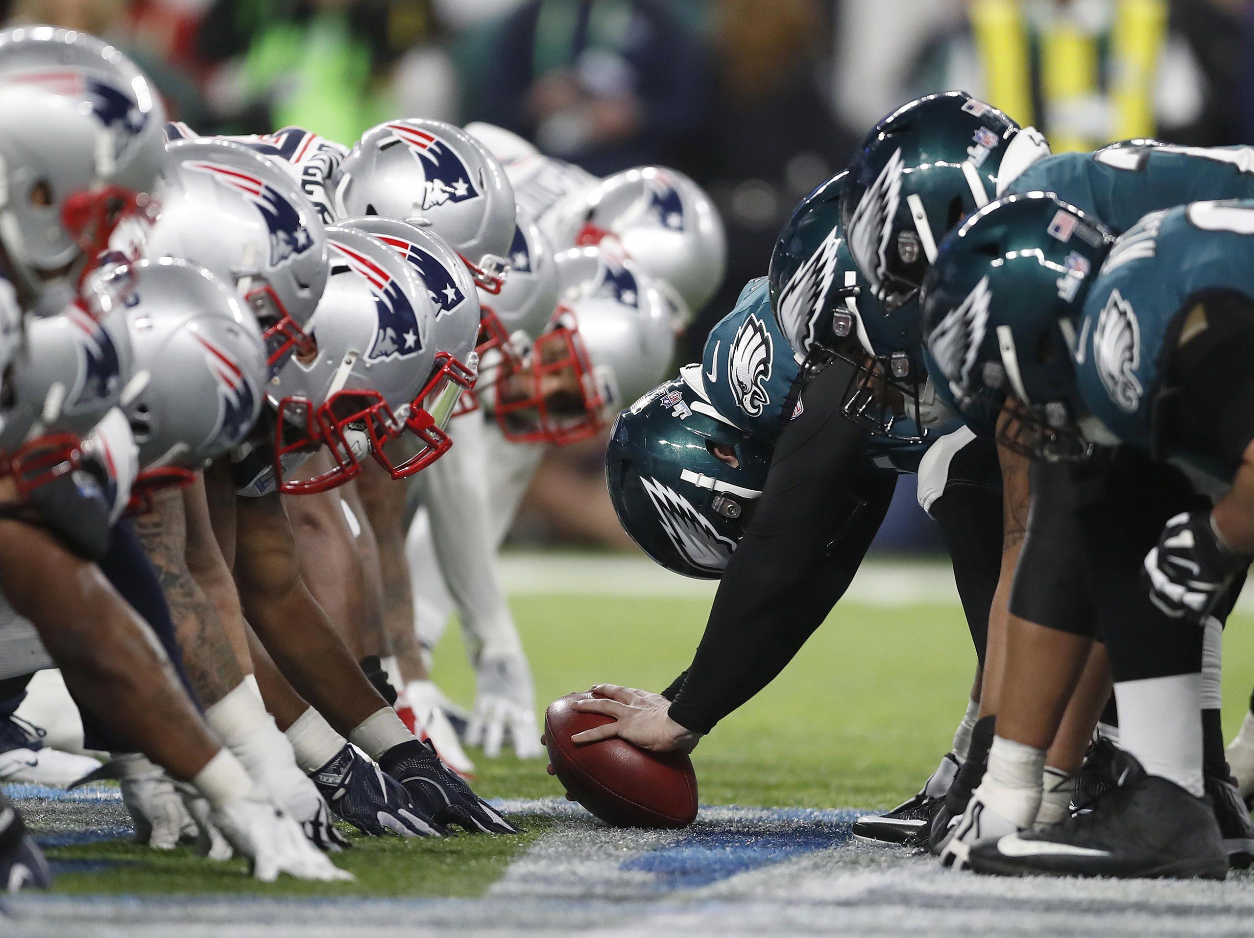 Eagles Vs Patriots Super Bowl Lii