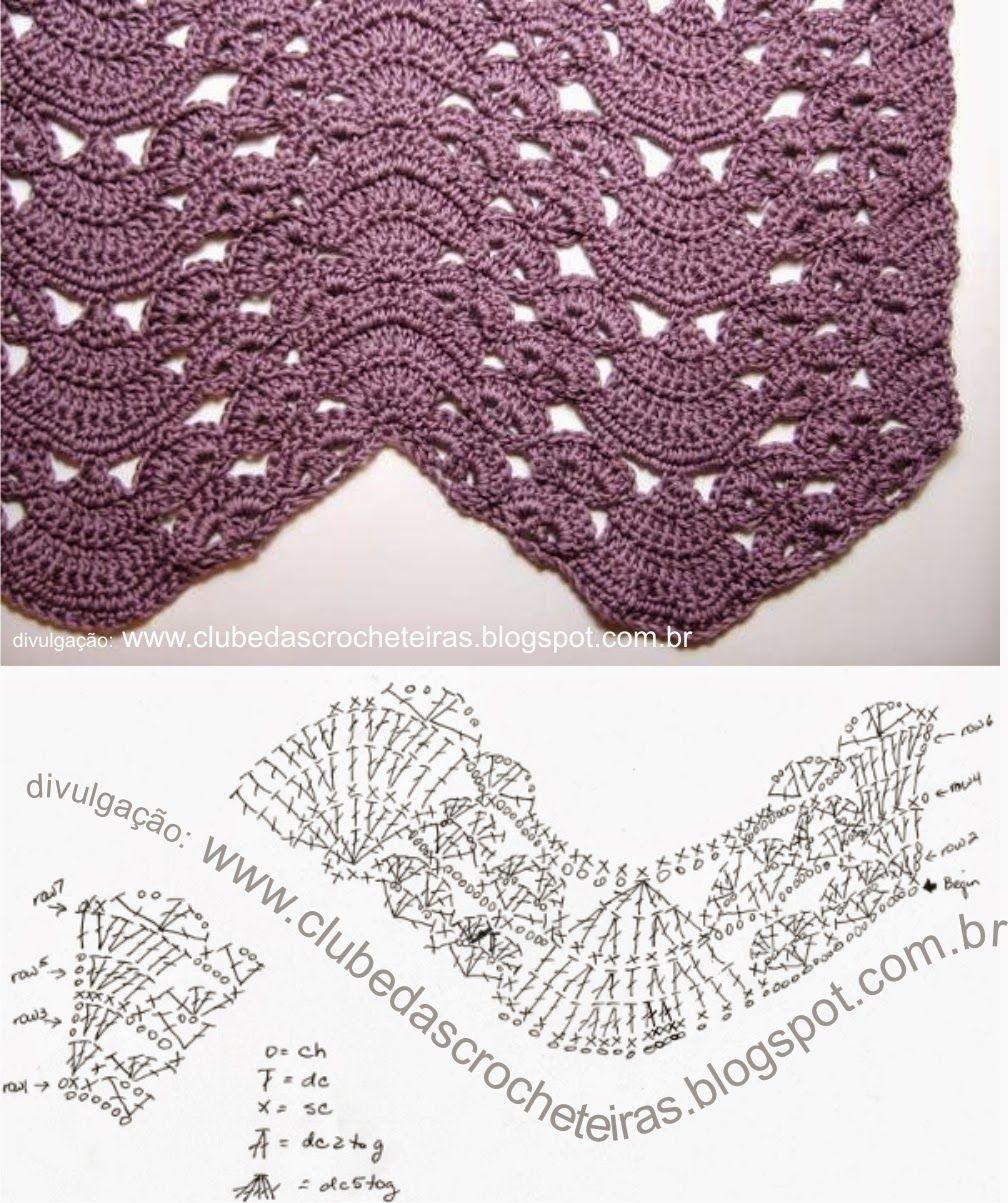 Coletânea de diversos trabalhos confeccionados em crochê e tricô que ...