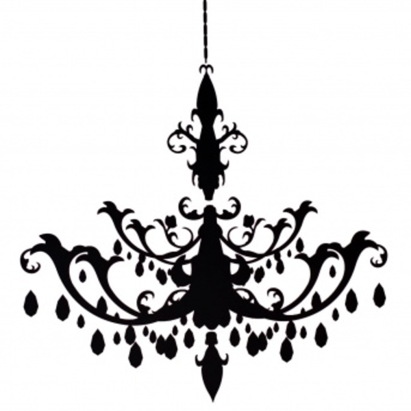 Resize Chandelier Decal Free Images At Clker Com Vector Clip Art