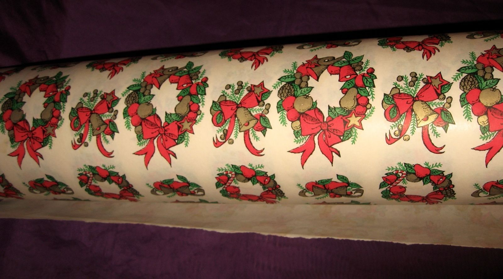 Vintage Dept Store Christmas Gift Wrapping Paper Large Roll Vintage Christmas Wrapping Paper Christmas Gift Wrapping Paper Christmas Gift Wrapping