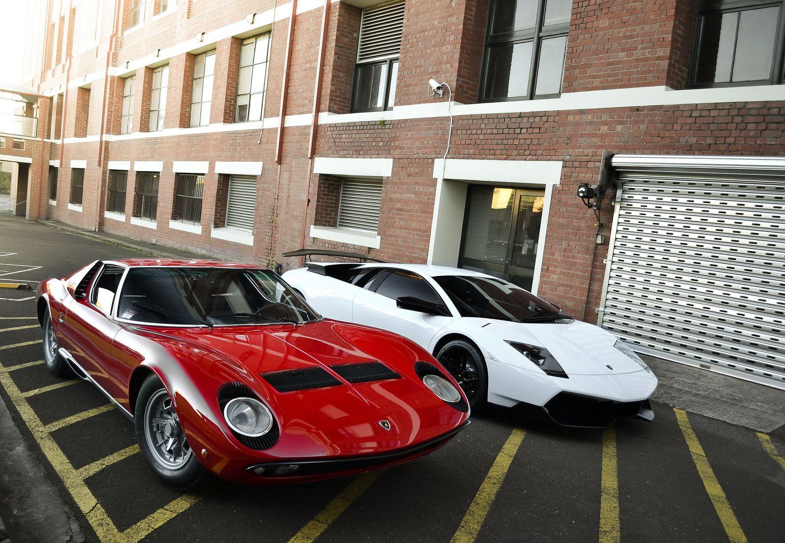 Old Vs New Cars Lamborghini Lamborghini Cars Cars