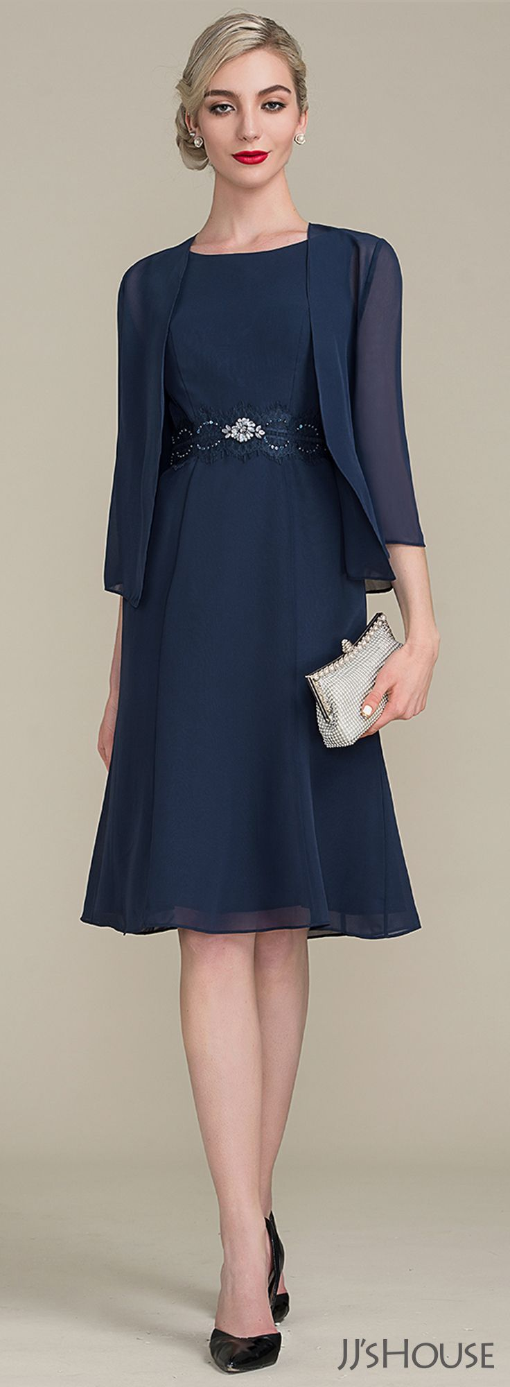 Mother of the Bride Dress Short Lace Embellished with Jacket at  SimplyDresses.com | Wedding | Pinterest | Bride dresses, Shorts and Groom  dress