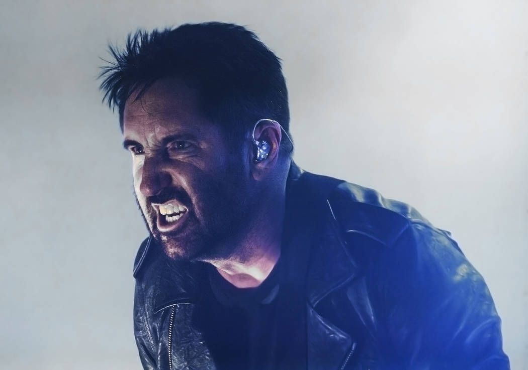 Trent Reznor performs with Nine Inch Nails at The Joint on Friday ...
