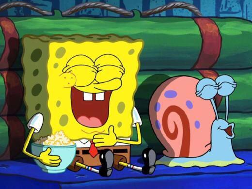 SpongeBob and Gary   Spongebob, Spongebob cartoon ...
