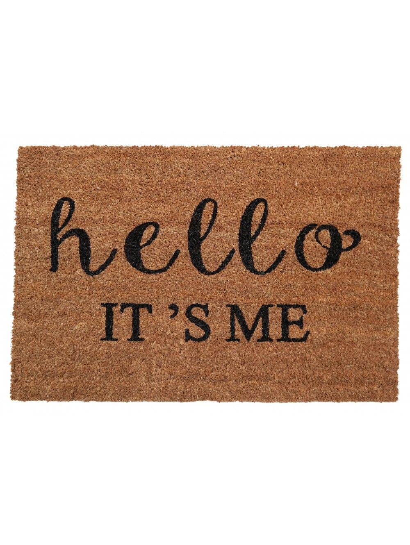 Hello its me doormat for my house pensamientos musica