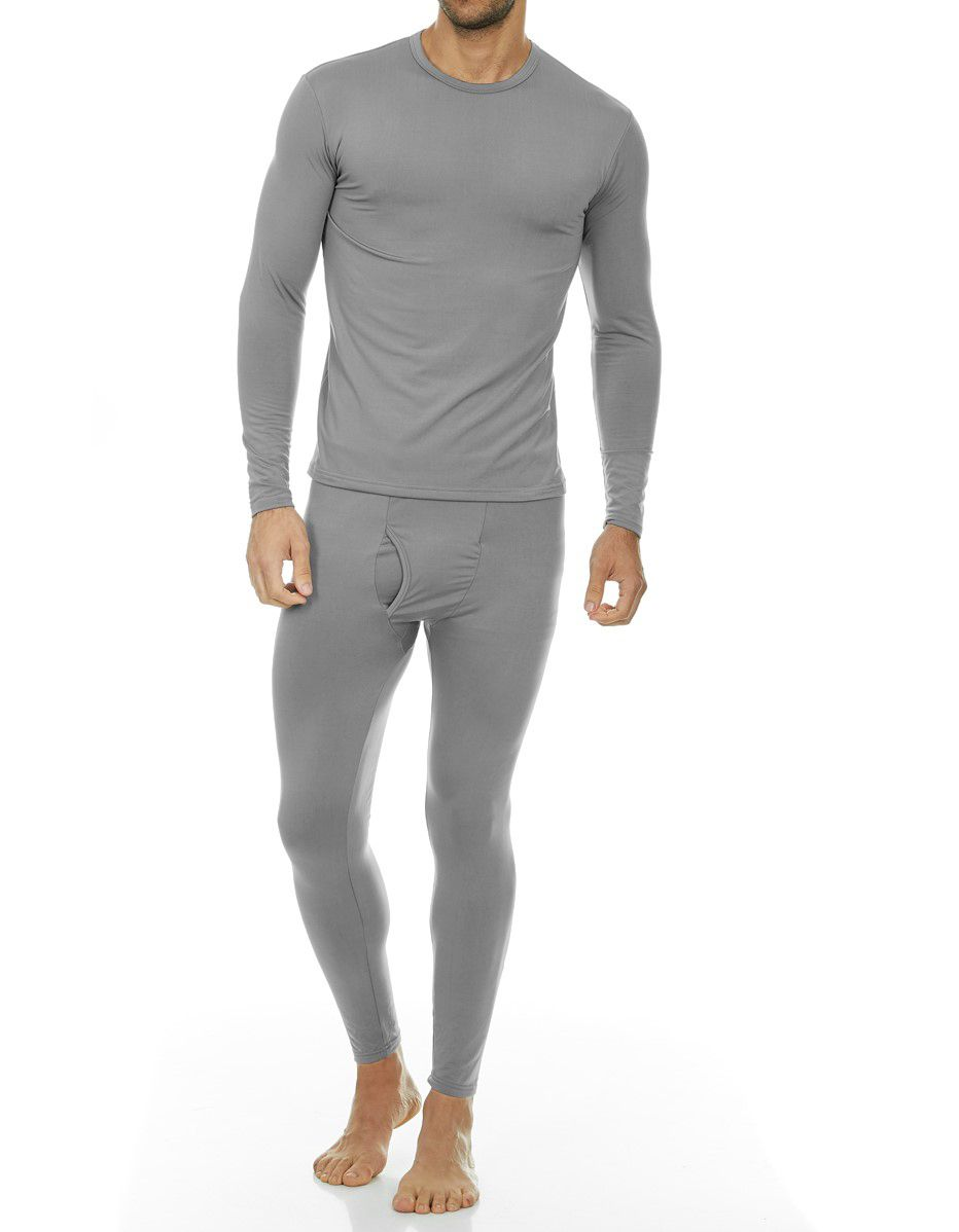 Essentials Thermal Long Underwear Set Uomo