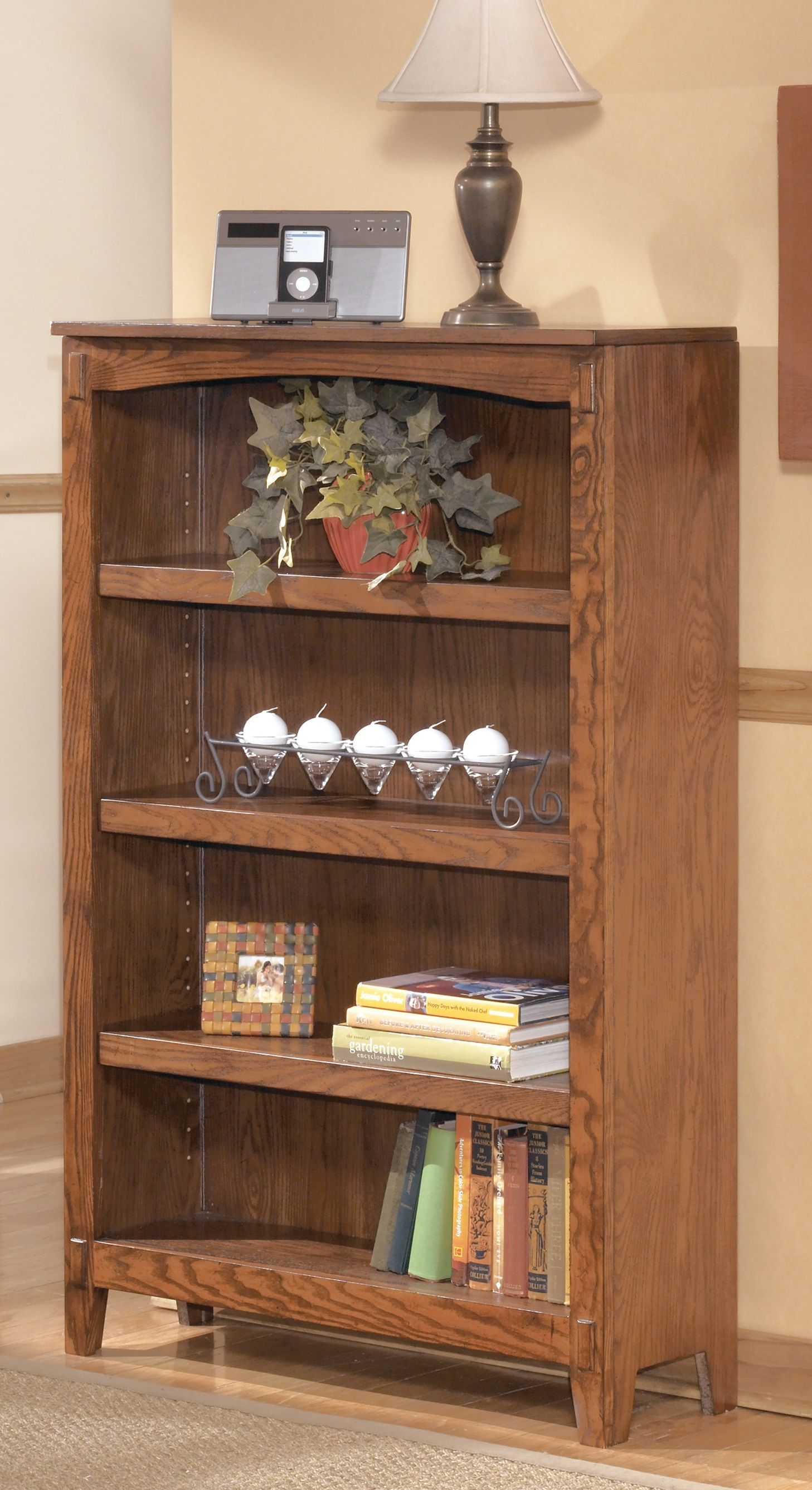 Cross Island - Medium Bookcase - H319-16 Bookcases from Ashley at
