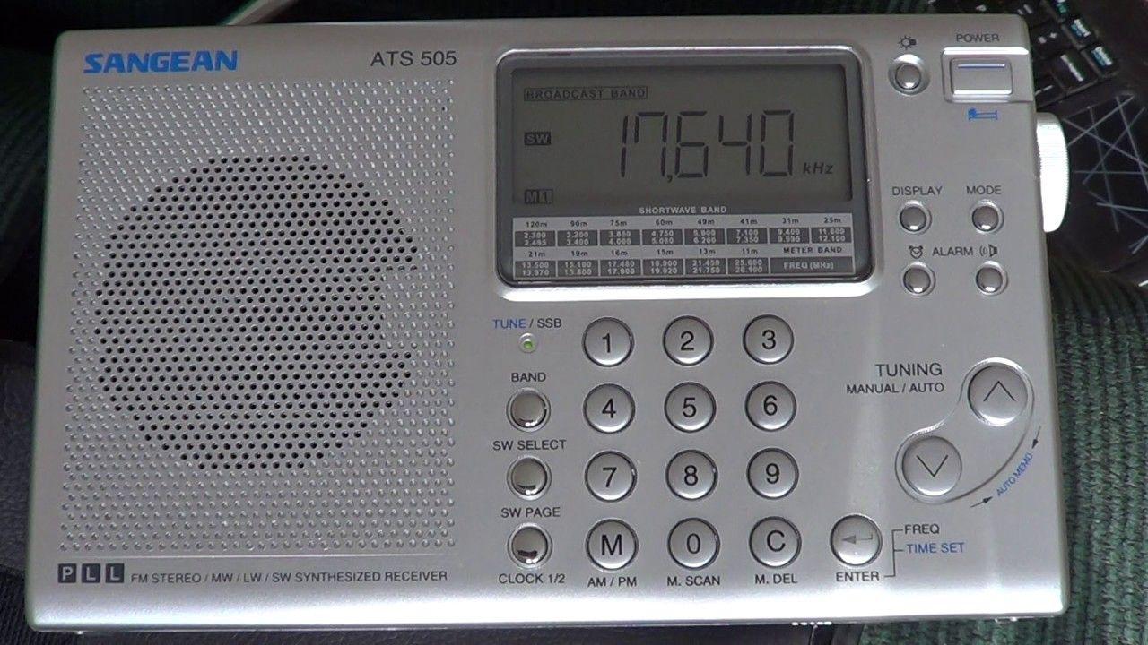 Sangean ATS 505 Shortwave radio with African Pathways
