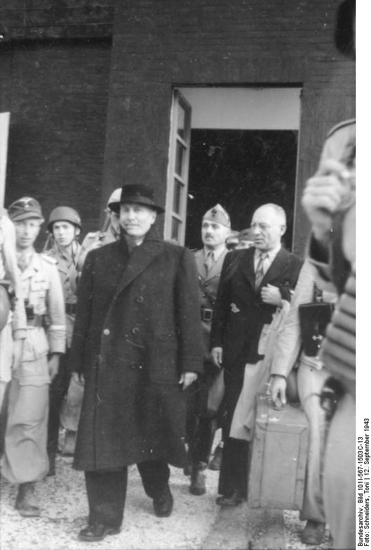 [Photo] Former Italian Prime Minister Benito Mussolini and ...