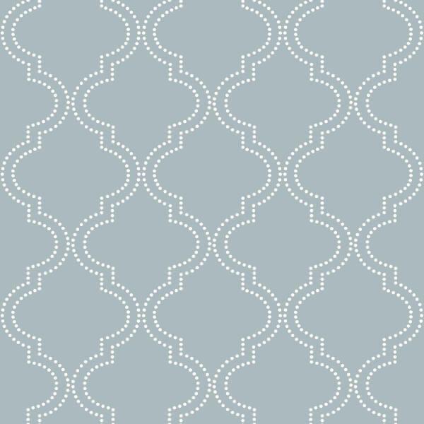 Nuwallpaper Tarratapetti Nu1826 Quatrefoil Wallpaper Peel And Stick Wallpaper Nuwallpaper