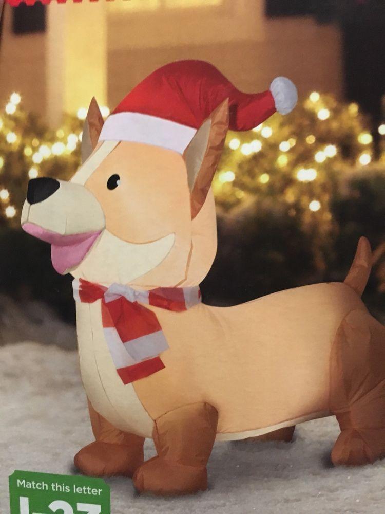 4pcs Lovely Cartoon Welsh Corgi Pembroke Model MINI Action Figure Christmas Gift