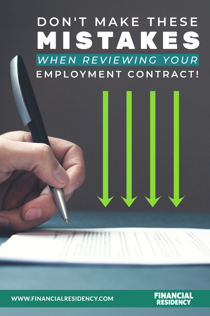 Physician Contract Review Mistakes Newbies Make ...