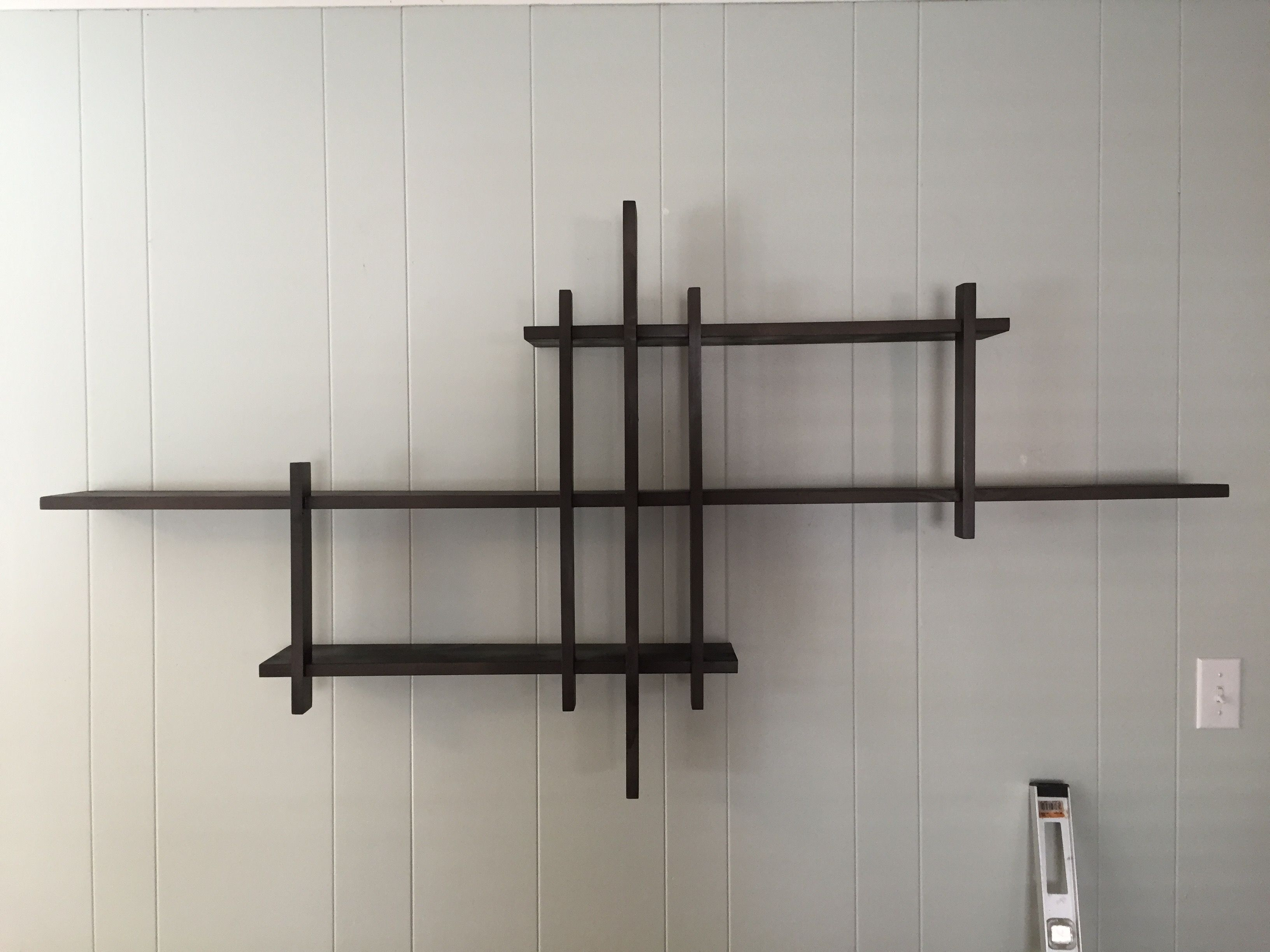 Built this shelving unit over the weekend using 1x2 1x4 and 1x6