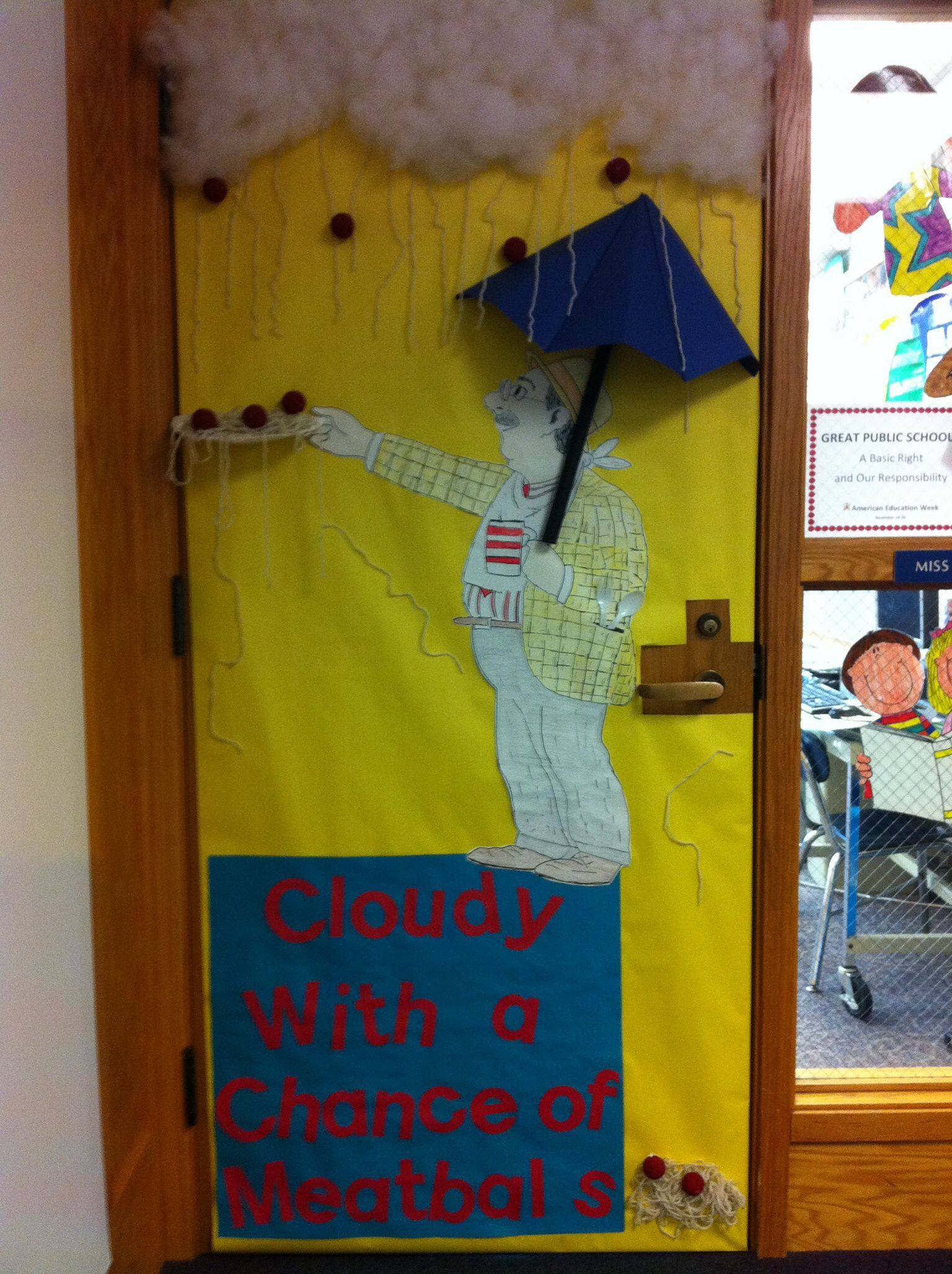 Reading Classroom Door Decorations : Door decoration i created for read across america love d