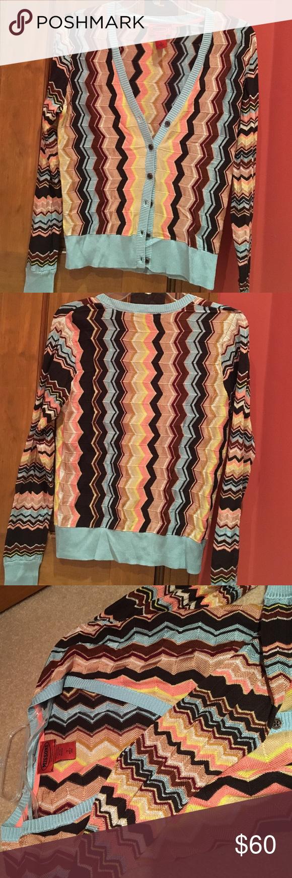 NWOT Missoni cardigan size small | Emma roberts, Missoni and Target