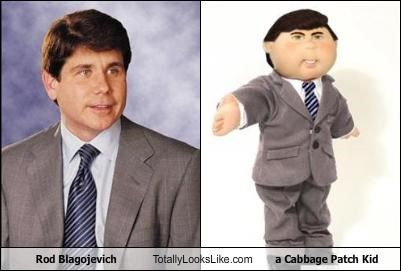 Rod Blagojevich Totally Looks Like a Cabbage Patch Kid | Cabbage ...