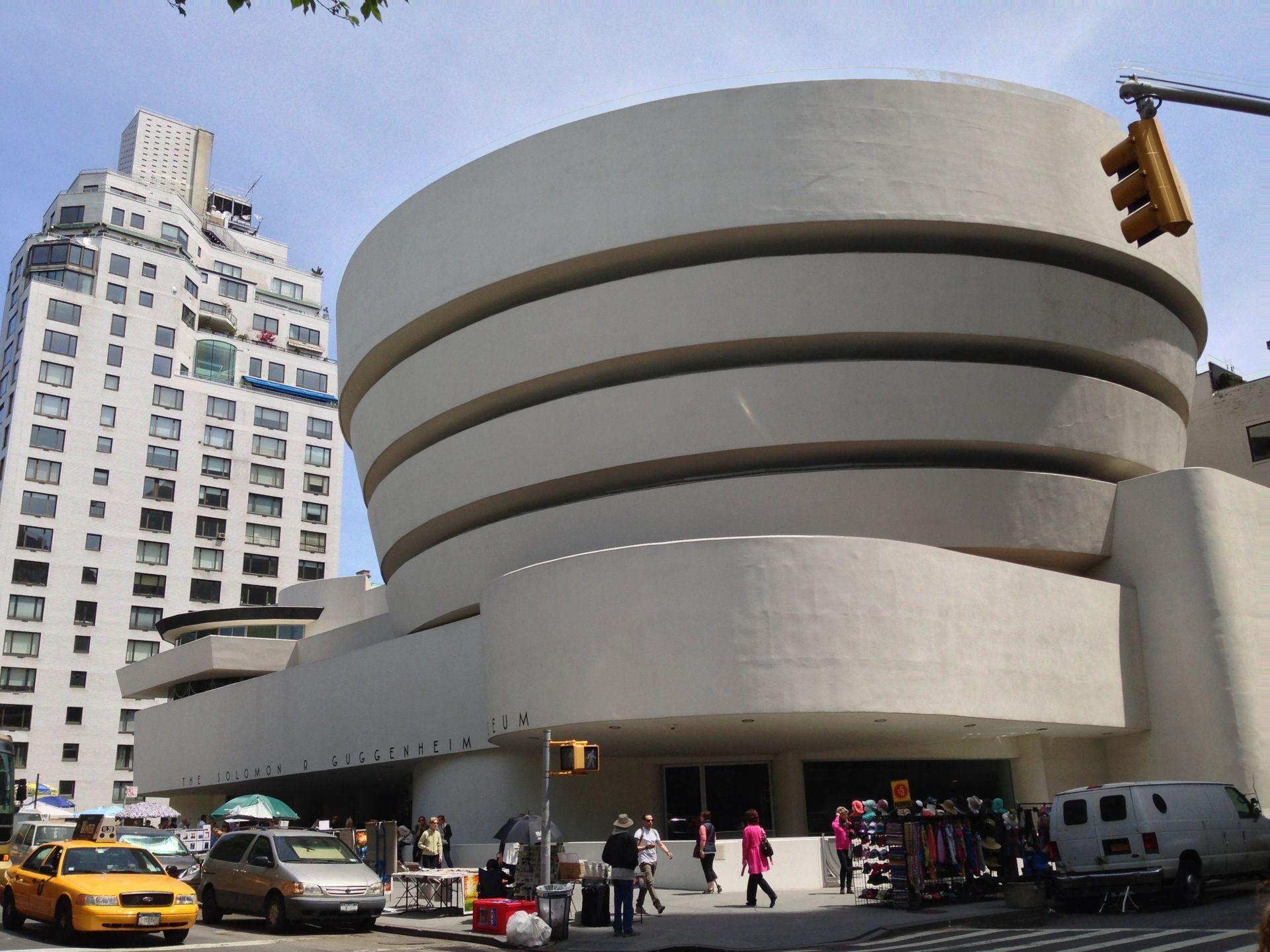 Solomon R Guggenheim Museum In New York Ny