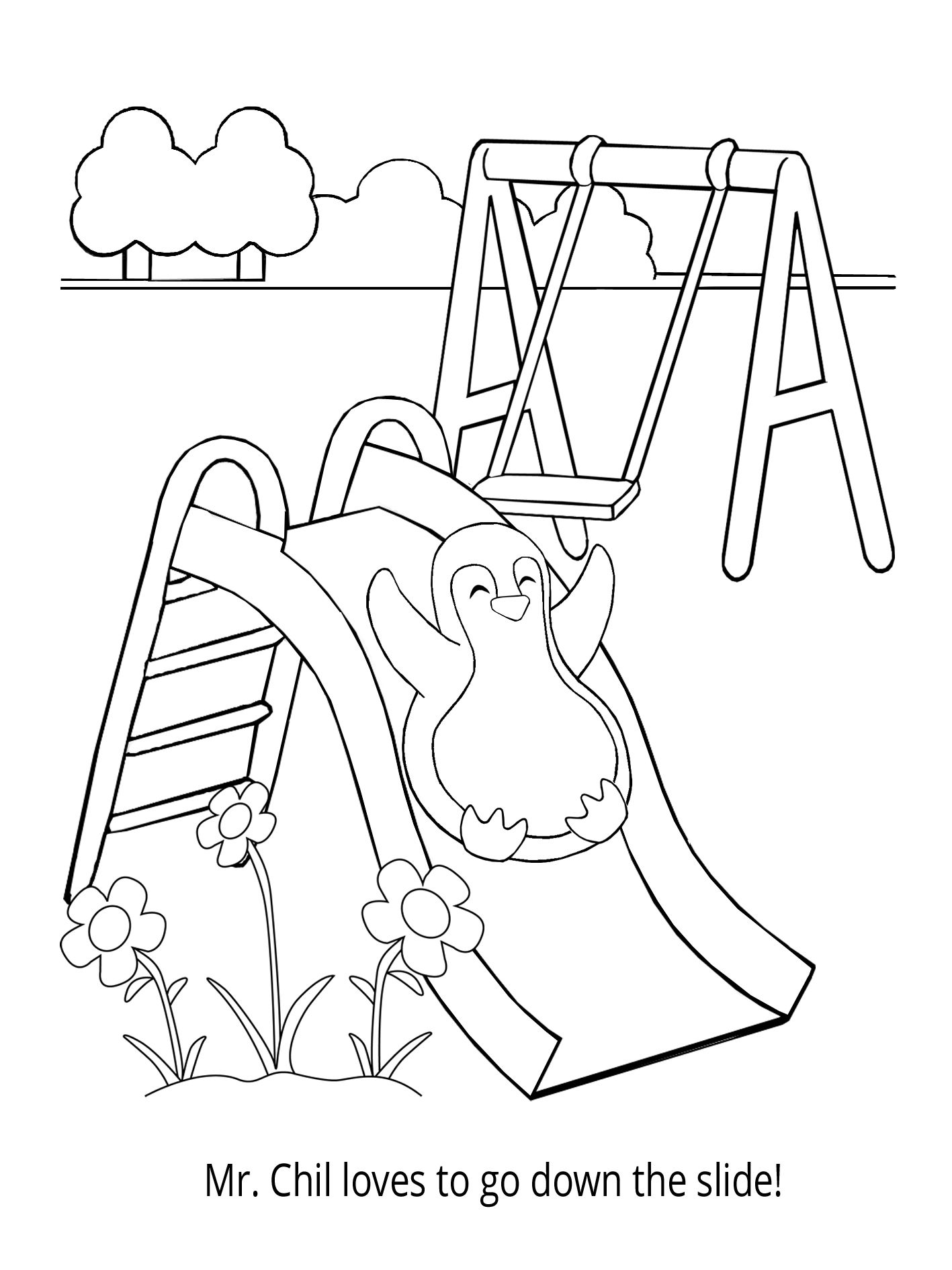 Penguin Coloring Book Come And Play With Mr Chil On His Favorite Playground Ride Fun Activities For Kids Penguin Coloring Children S Literature [ 1890 x 1417 Pixel ]