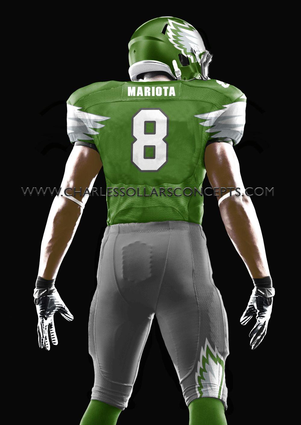 Marcus Mariota In An Eagles Uniform St Louis Rams Michael Sam Nfl Draft