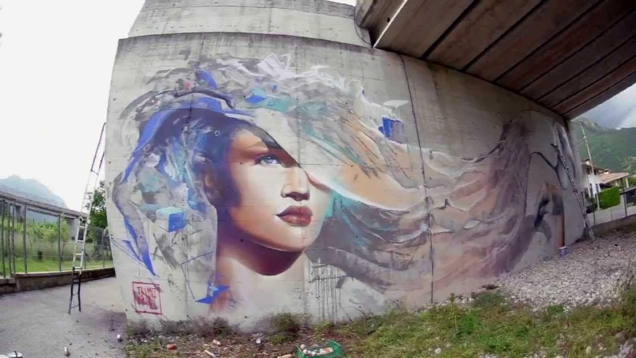 TELMO MIEL street art - Italy.