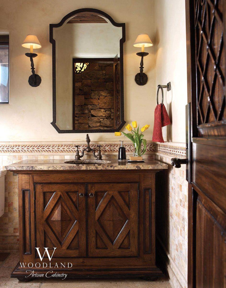 Custom Bathroom Vanity By Woodland Artisan Cabinetry Woodland