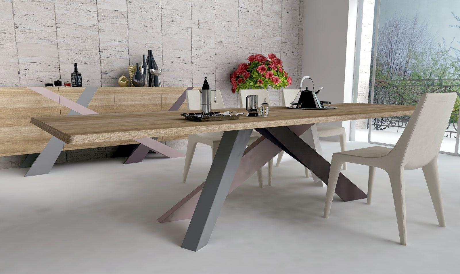 Big Table is een bijzondere tafel ontworpen door Alain