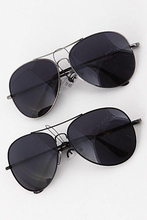 404f65e394f39 Black Out Aviator Sunglasses