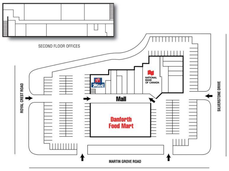 Martin Grove Mall Shopping Plan Grove Mall Mall Ontario City