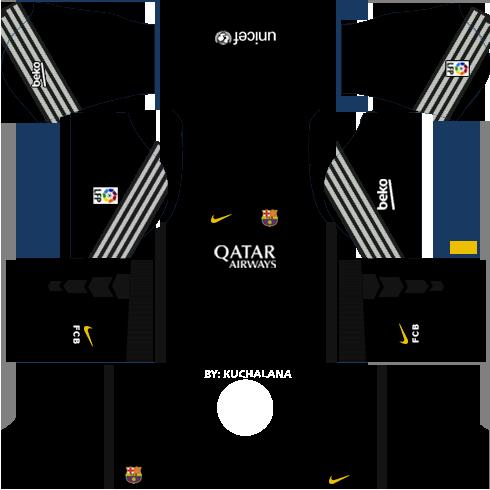 Dream League Soccer Kits Barcelona 2015 2016 With Logo Url Soccer Kits Barcelona Soccer Barcelona Football Kit