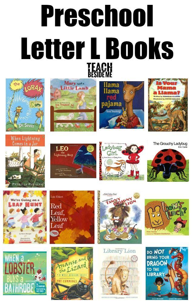 Letter of the Week: Preschool Letter L Activities ...