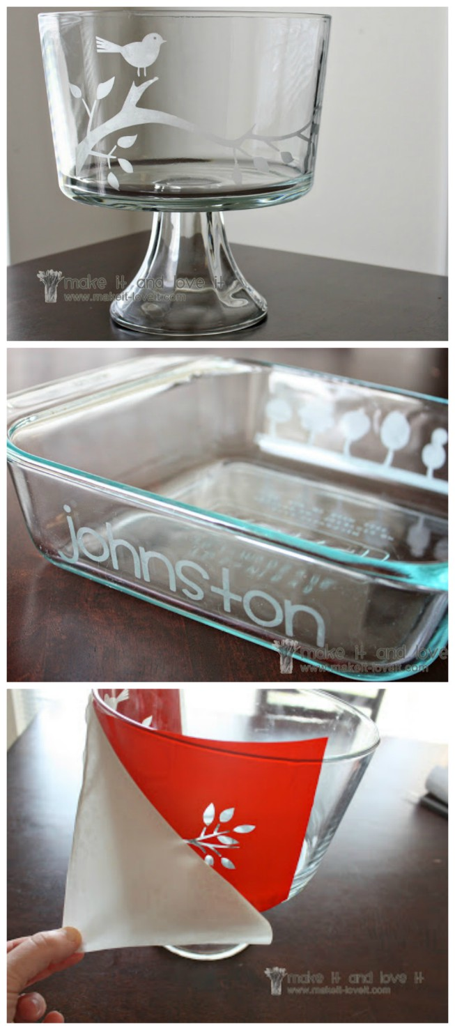 How To Etch Glass The Easiest Way {Video Instructions}