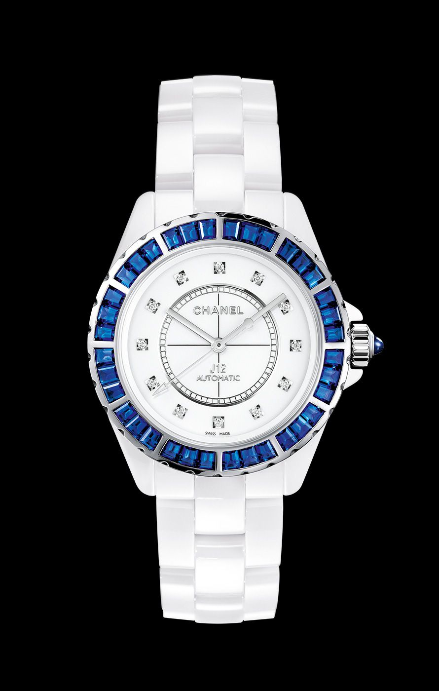 automatic chanel watches white collections chronograph watchobsession watch