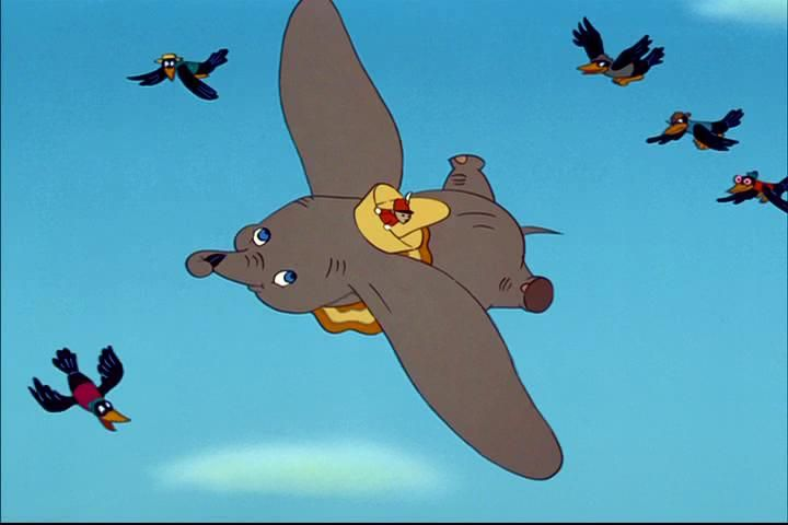 146. Dumbo (1941)  Jim Crow: [singing] I seen a peanut stand /And heard a rubber band /I've seen a needle that winked its eye / But I been done seen about everything / When I see an elephant fly.