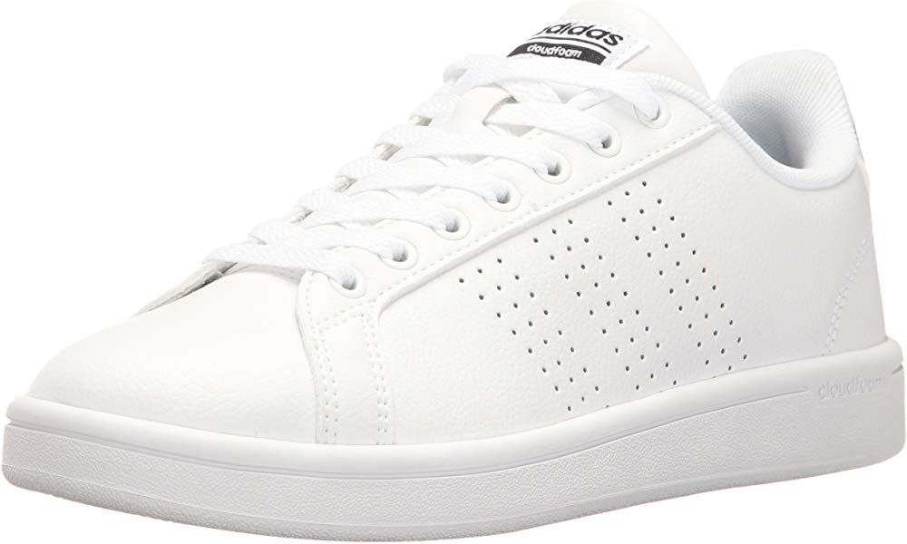 por qué hermosa Qué  Amazon.com | adidas Women's Shoes Cloudfoam Advantage Clean Sneakers,  White/White/Black, (9 M US) | Fashion Sn… | Adidas shoes women, Adidas  women, Sneakers fashion