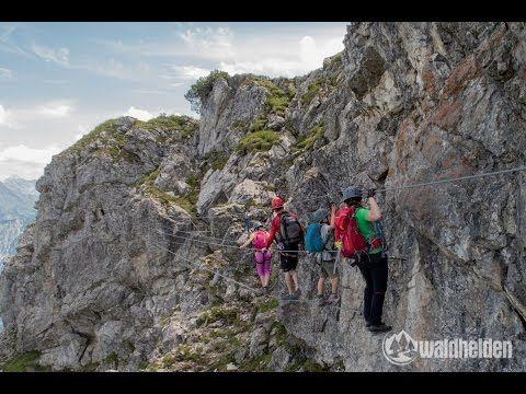 Klettersteig Kanzelwand : Klettersteig kanzelwand mit der bergschule kleinwalsertal auf