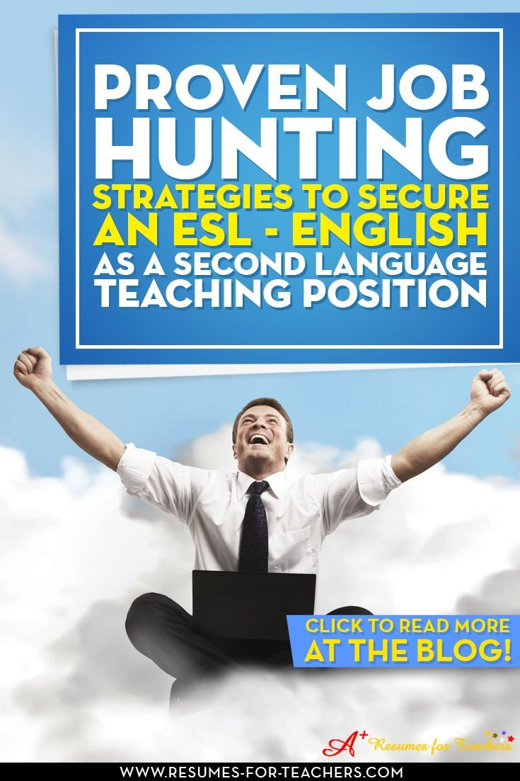 esl teacher resume writing tips and job search steps teaching positions job search and language - Job Hunting Tips For Job Hunting Strategies