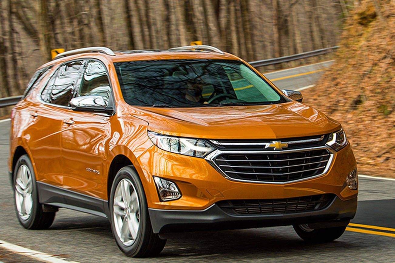 2018 Chevy Equinox is smaller, lighter, more fuel