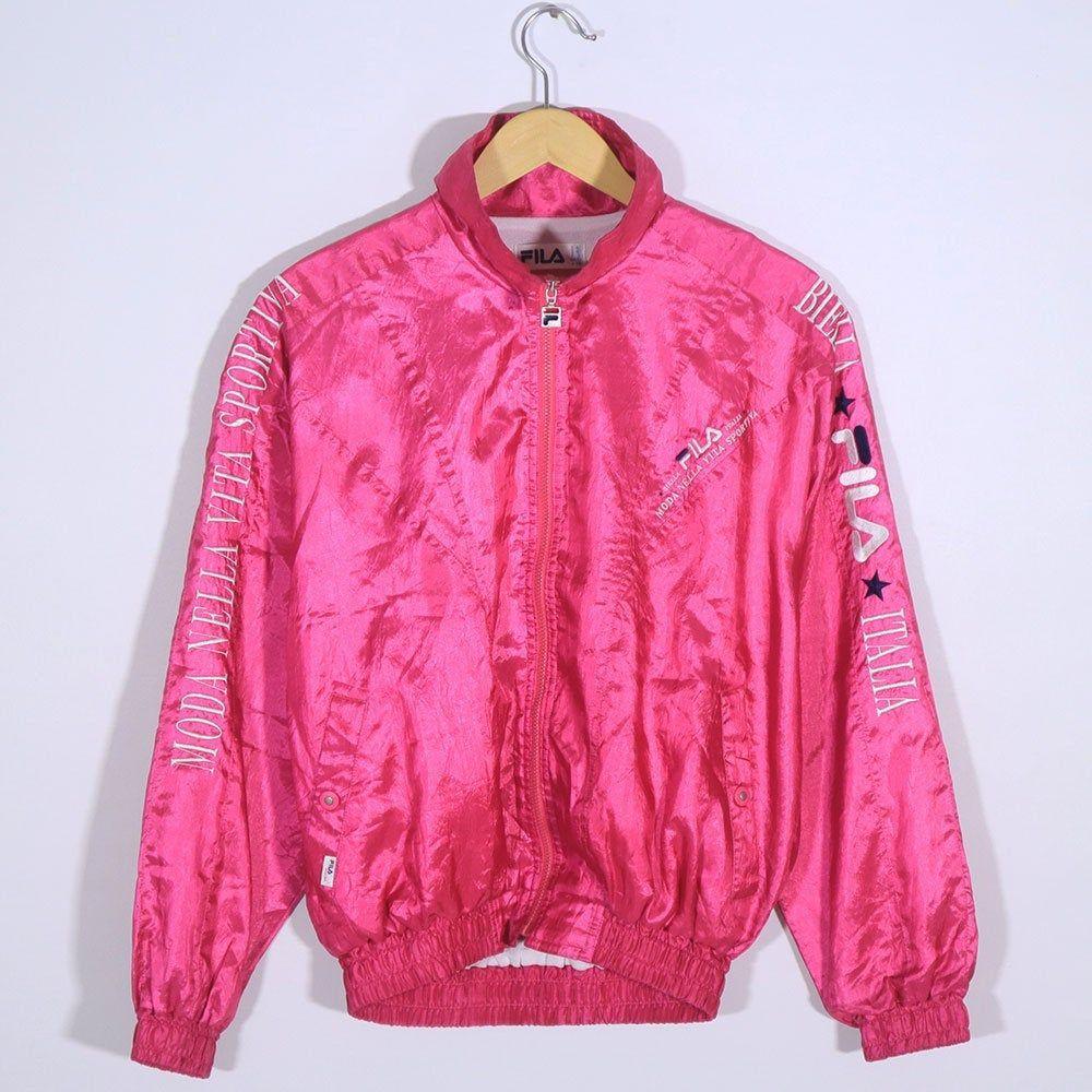 Vintage 90s Fila Shell Spray Windbreaker Bomber Jacket Fila Etsy Windbreaker Bomber Jacket Windbreaker Satin Jackets [ 1000 x 1000 Pixel ]