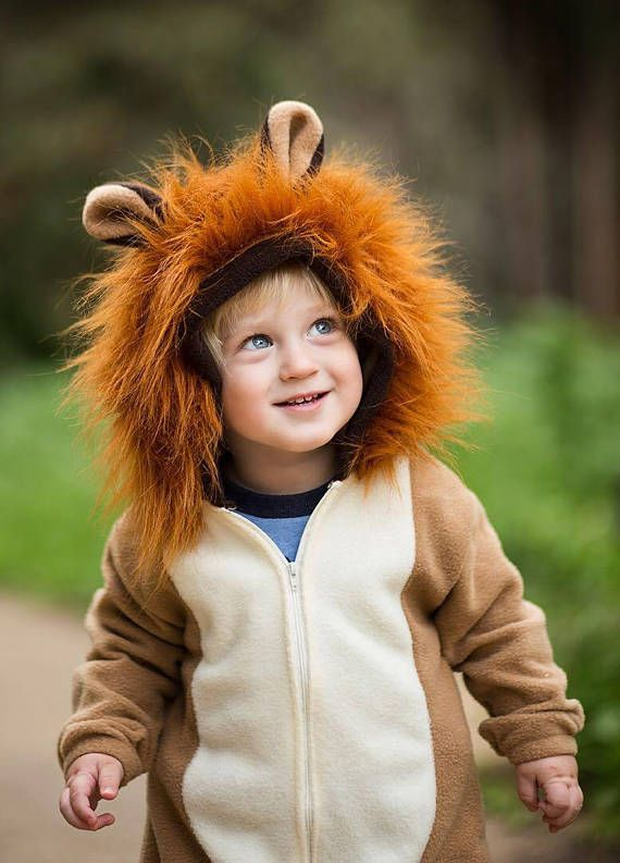 Lion Costume/ Lion Halloween Costume for Boys or Girls / Halloween - halloween ideas girls