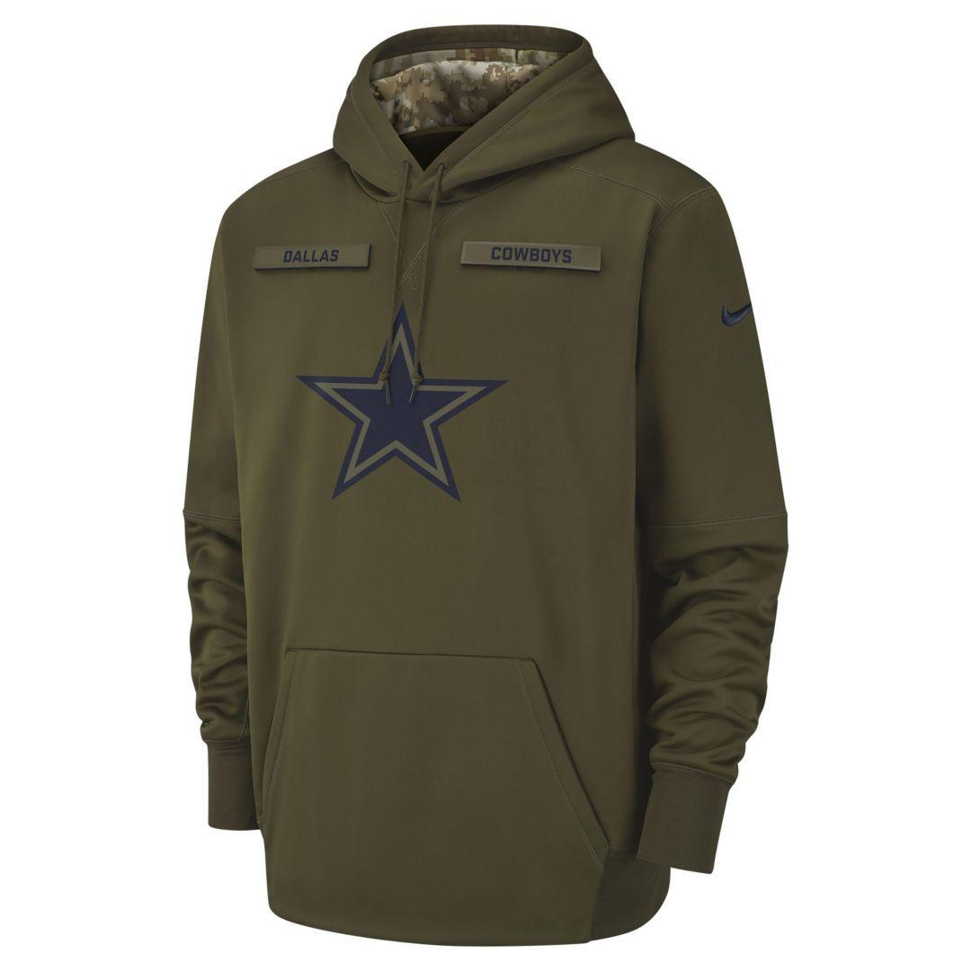 online store 4736f 90b80 Nike Therma Salute to Service (NFL Cowboys) Big Kids' Hoodie ...