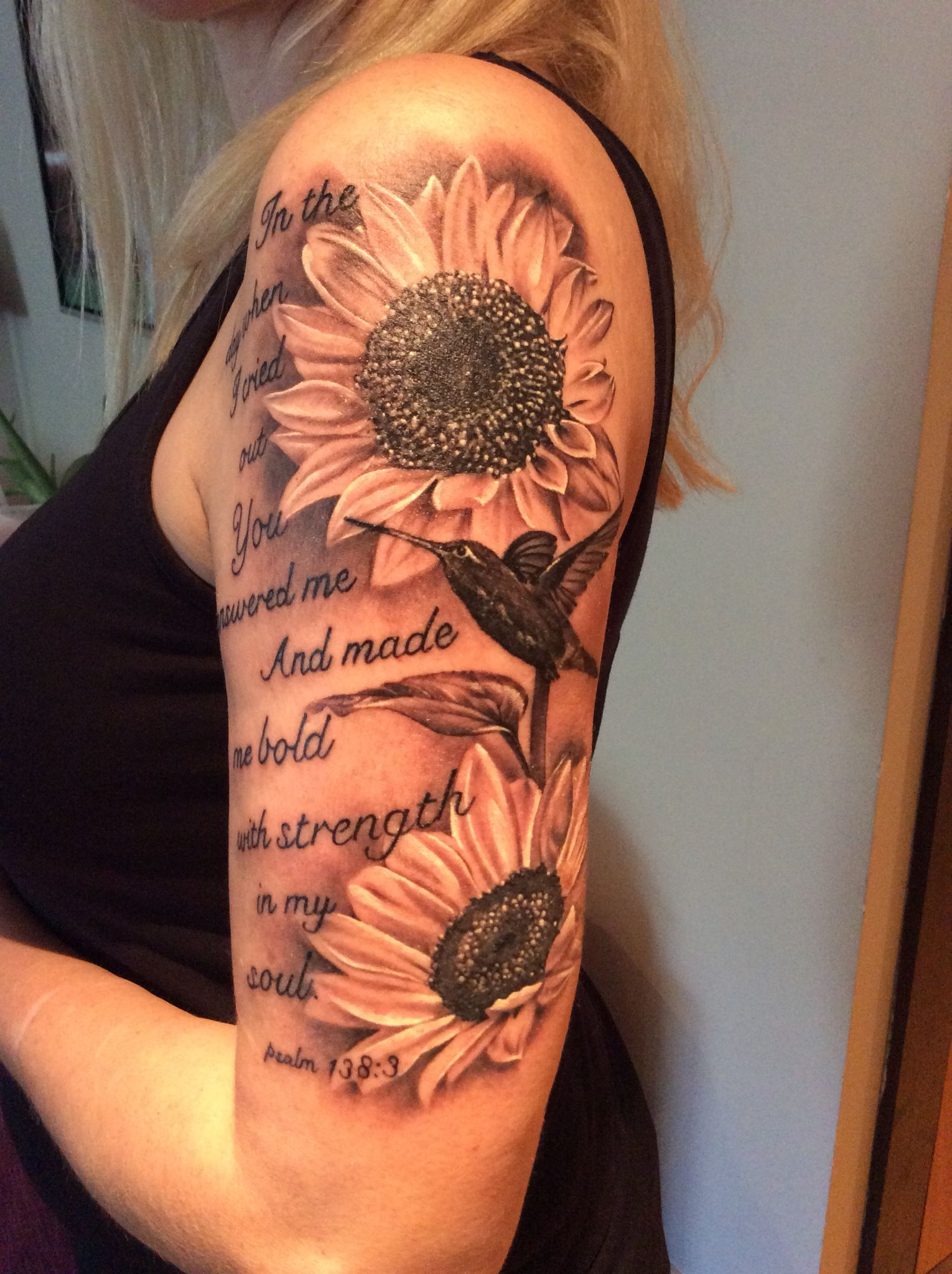 my beautiful sunflower tattoo | flowers | pinterest | sunflowers