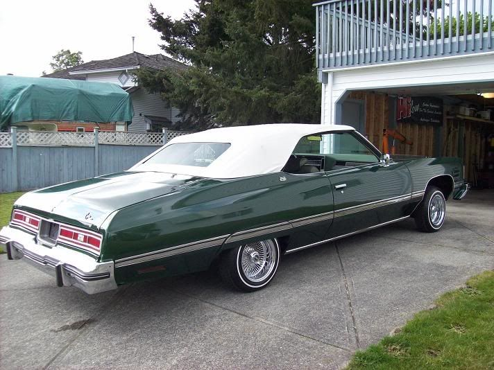 1974 Chevrolet Caprice Classic Convertible Maintenance Restoration Of Old Vintage Vehicles The Materia Caprice