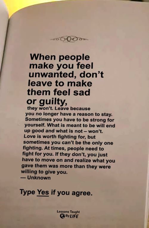 You Can\'t be The ONLY ONE Fighting... Not Worth it, Just NOT ...