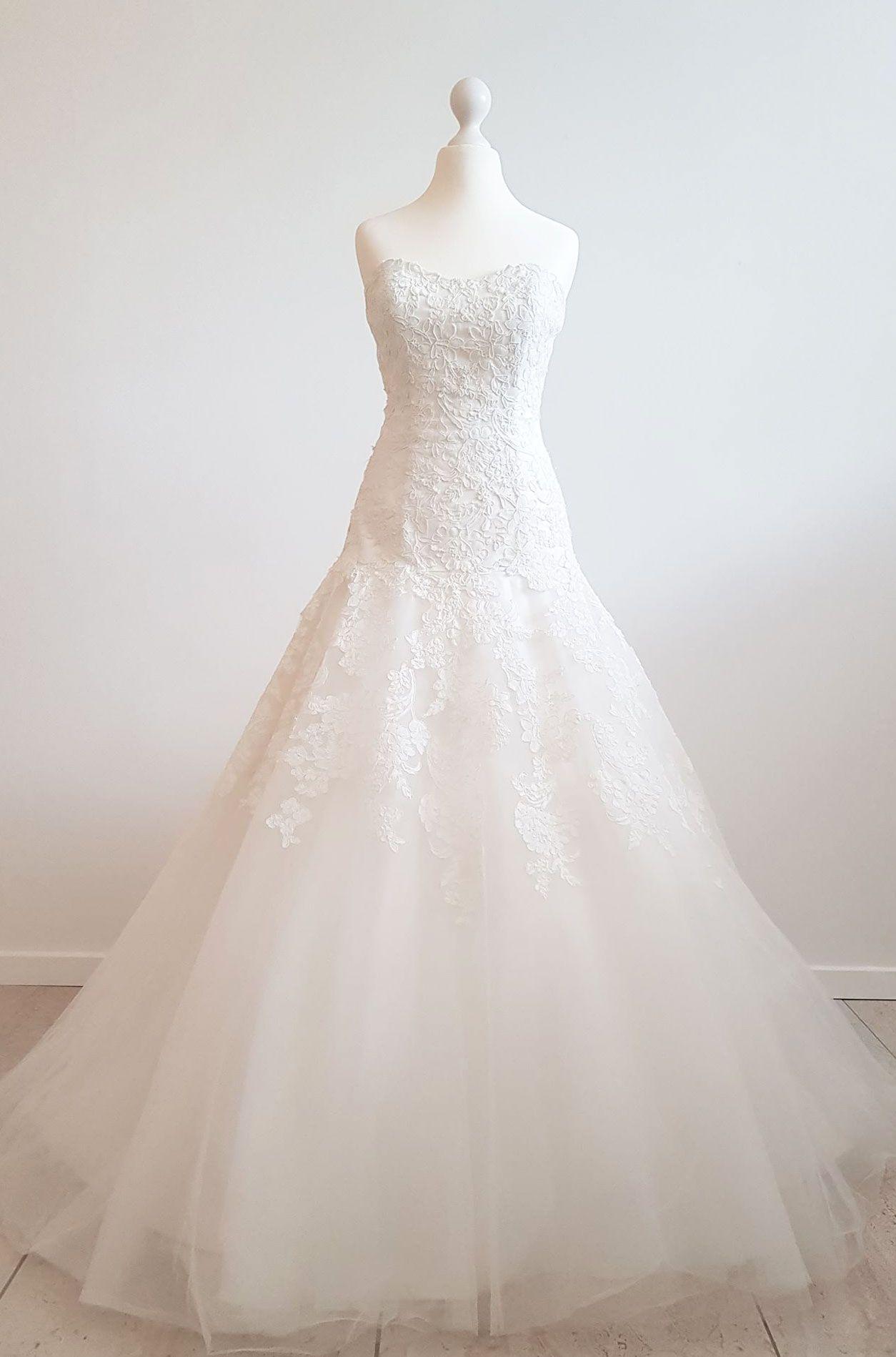 707f6fbb ATELIER DIAGONAL brudekjole   VintageBrides.dk brudekjoler ...