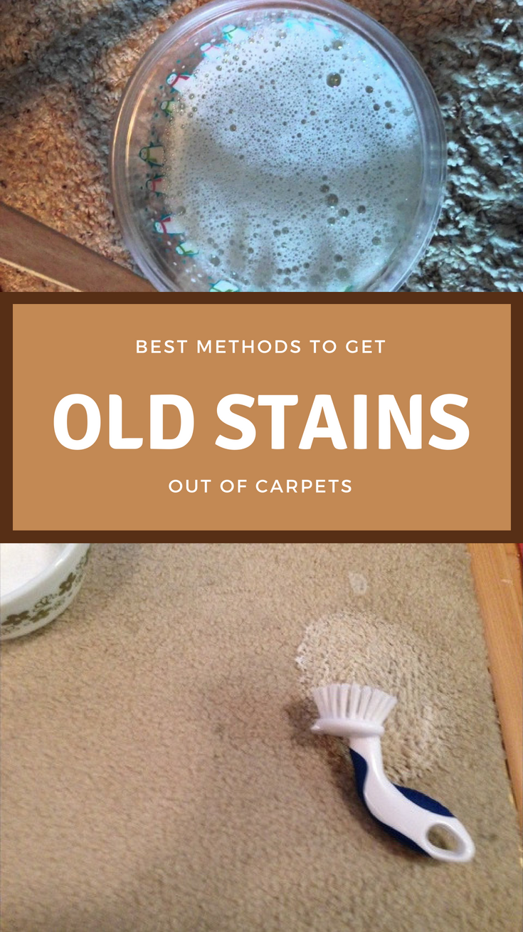 Best Methods To Get Old Stains Out Of Carpets Cleaninginstructor